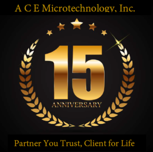 15th Anniversary ACE Logo